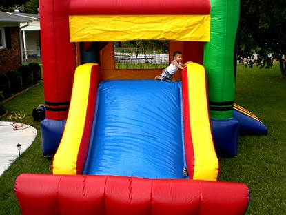 rent a bounce house and slide