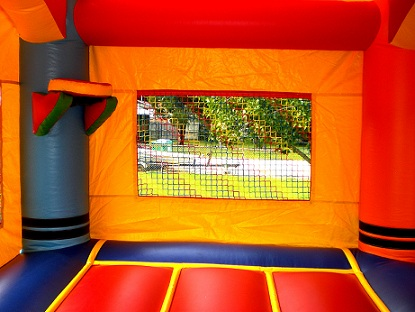 inflatable bouncers with slide combo