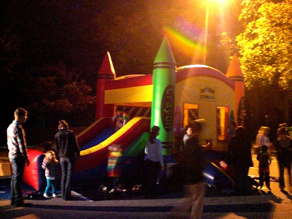 bouncehouse with slide rentals