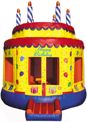 inflatable cake Bouncer