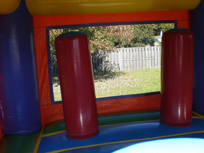 bouncers and slides