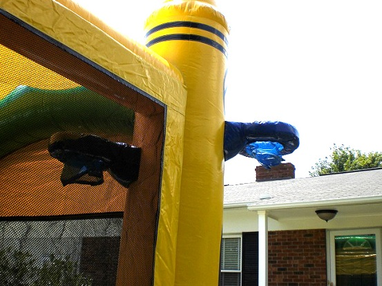 inflatable bouncer water slide rentals