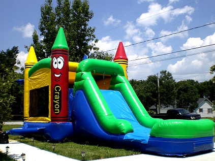 rent a Bounce house and slides combo