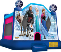 disney frozen bouncy house