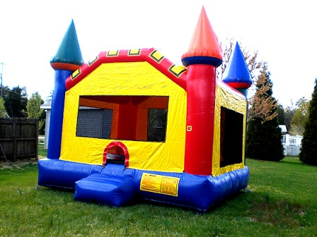 inflatable jump castle for rent