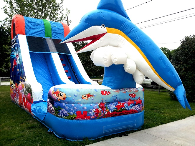 rent inflatable water slide