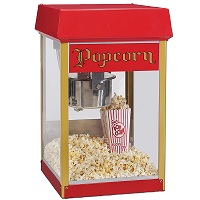 pop corn machine rentals