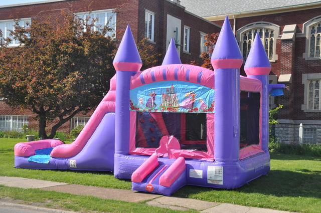 rent princess jump house and waterslide