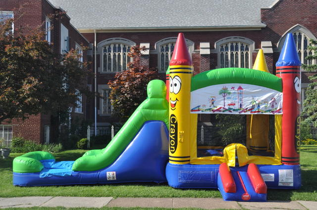 rent a Bounce house water slides