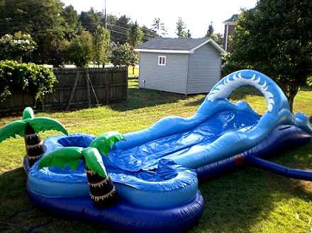 rent a slip and slide