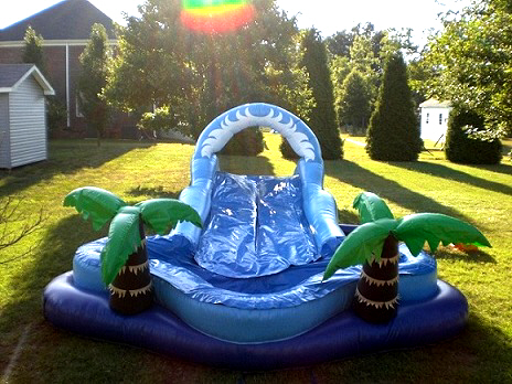 rent inflatable slip n slide