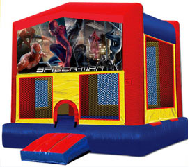 Spider Man moonbounce