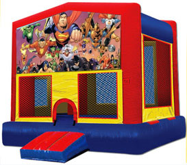 super hero moonbounce