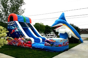 waterslides rental